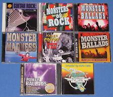 HAIR METAL/ HARD ROCK HITS--8 CD'S--WARRANT+ CINDERELLA+ WHITE LION+ SCORPIONS