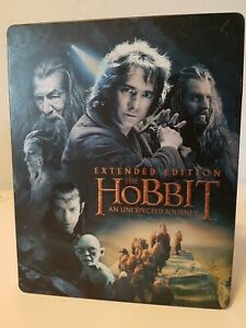The Hobbit: An Unexpected Journey (Blu-ray Disc, 2013, 4-Disc Set, Extended)