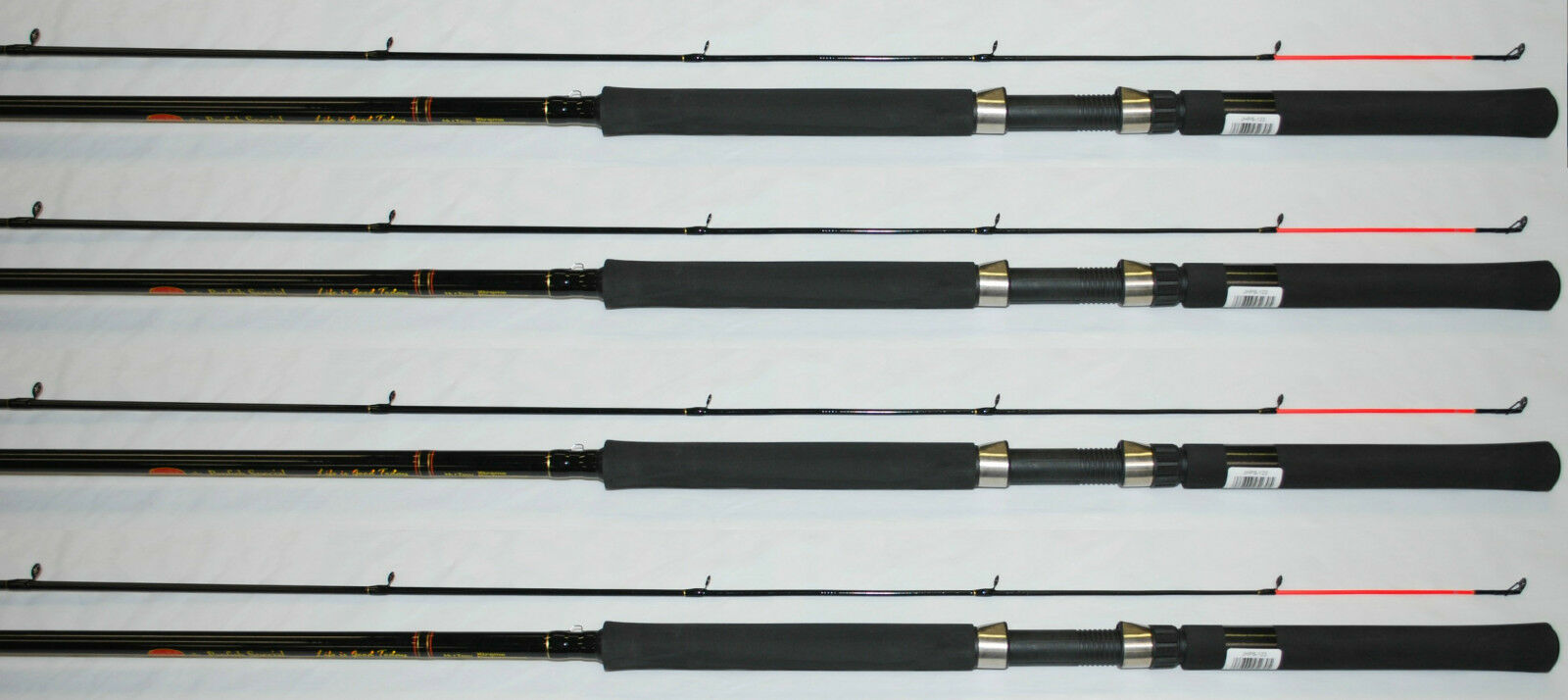JIMMY HOUSTON PANFISH SPECIAL12' COMPOSITE CRAPPIE POLE ROD JHPS122 (SET OF 4)