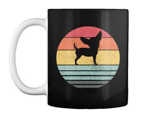 Vintage Chihuahua Dog Retro Gift Coffee Mug