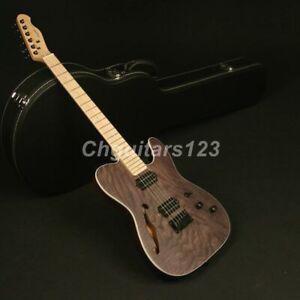 Zuwei-Electric-Guitar-ASH-Top-Veneer-Alnico-Dual-Ways-Pickups-Semi-Hollow-body