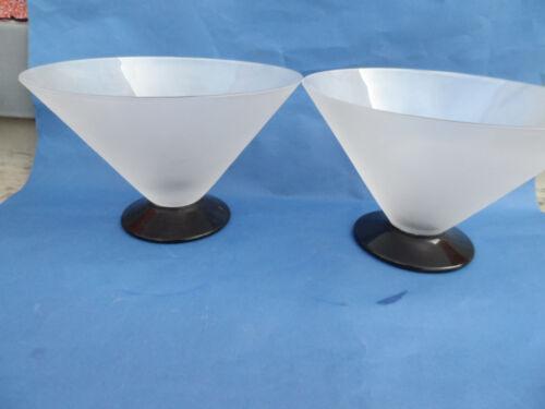 19700 Vase mundgeblasen 27 cm  mouthblown 70er Jahre Design geätzt Schwarzglas