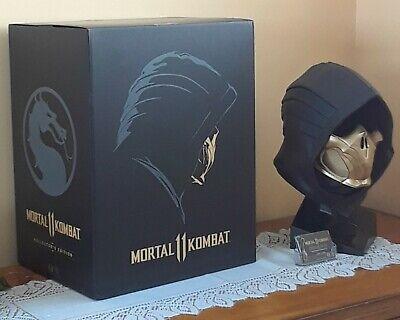 Mortal Kombat 11 Kollector S Edition Scorpion Mask Head 1 1 Game