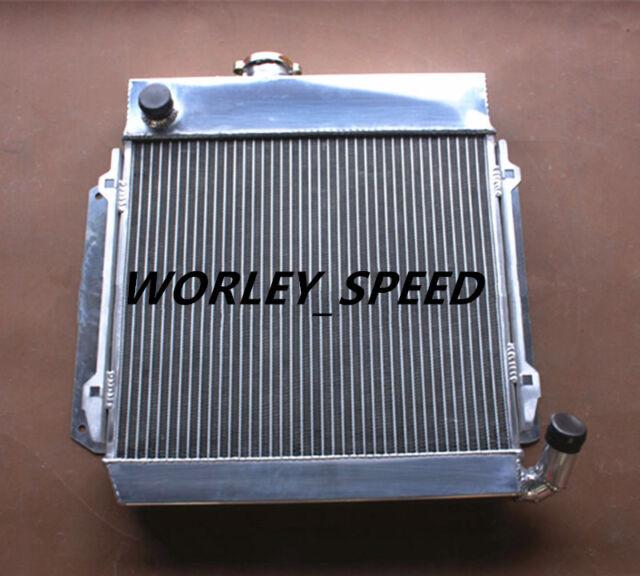 TURBO 1966-1977 MT Aluminum radiator for BMW E10 2002 1802 1602 1600 1502 TII