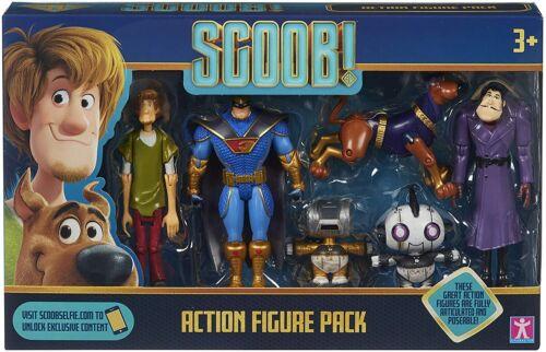 Scooby Doo ~ Scooby figurine Multi Pack ~ comprend 6 figurines