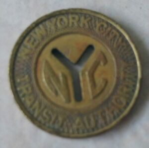 new york city transit authority coin