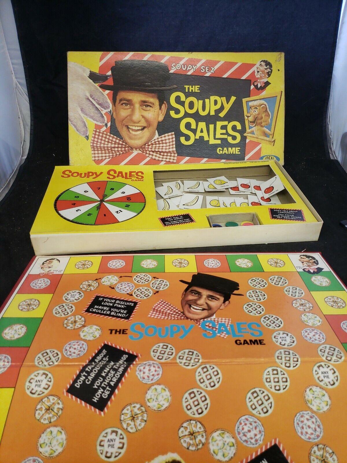 marchio in liquidazione The The The Soupy Sales tavola gioco 1965 Ideal Soupy Sales completare 2283-0 (f1)  risparmia fino al 70% di sconto