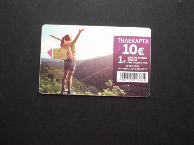 GREECE Enjoying Nature(10 euro), tirage 50000, 03/16, used GRECE GRECIA HELLAS
