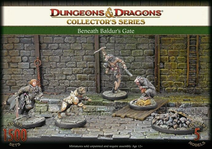 Gale Force Nine - D&D Collector's Series  Beneath Baldur's Gate  71022