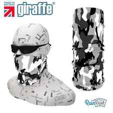 G214 Snow camouflage Balaclava Bandana Face Mask Neck Tube Scarf Snood Warmer