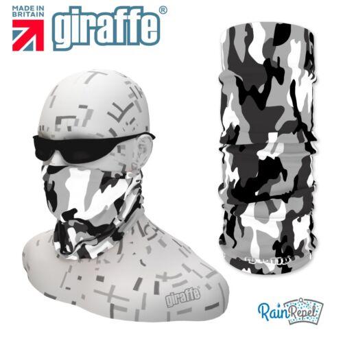 G214 neige camouflage coiffure nuque snood écharpe bandana bandeau tube