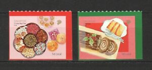SINGAPORE-2018-FESTIVALS-amp-FOODS-1ST-LOCAL-BOOKLET-PANE-COMP-SET-2-STAMPS-MINT