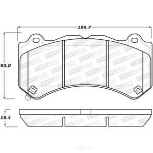 StopTech 309.14050 Front Disc Brake Pad-Sport Brake Pads