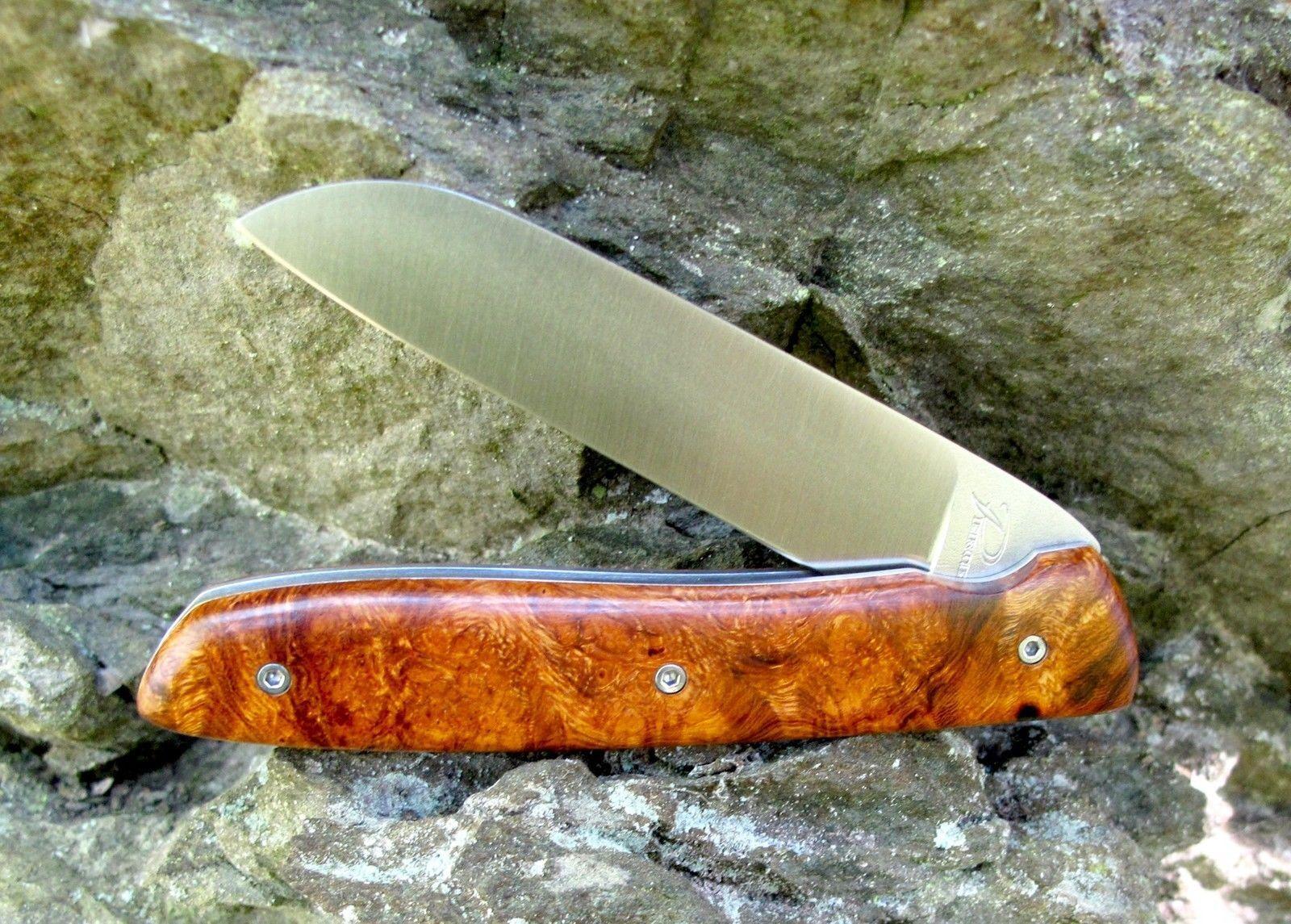Atelier Perceval L08 Wüsteneisenholz 19C24 Sandvik Vesper-  Brotzeitmesser  | Kostengünstig