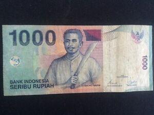 Image Is Loading Banknote 1000 Bank Indonesia Seribu Rupiah Ada Prefix