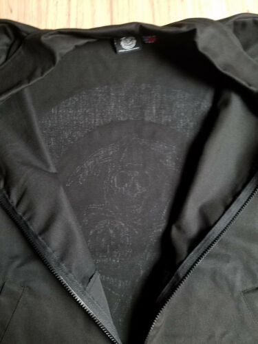 Sons Of Anarchy Official Teller-Morrow Auto MED Unlined Jacket /& FREE patch Set