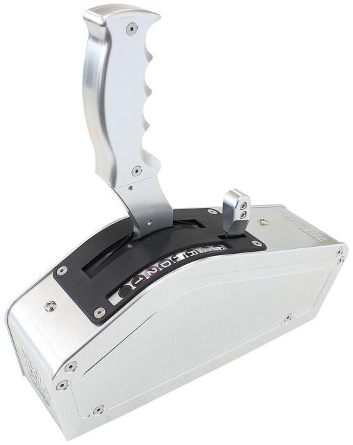 Aeroflow Bang Shift PISTOL 2, 3 & 4 Speed Ratchet Shifter Silver AF72-9012