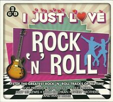 I JUST LOVE ROCK 'N' ROLL 3 CD SET CHUCK BERRY VERLY BROTHERS BUDDY HOLLY MORE