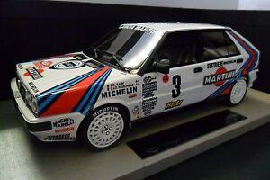 Top Marques Collectibles Vainqueur du Rallye Lancia Montecarlo 1:18 en Resina