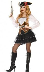 Déguisement Femme Capitaine Pirate Xss 3638 Costume Adulte Sexy