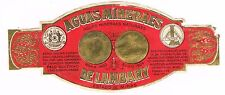 1900s Brasil Lambaray Medicinal Mineral Water Label Stephens Coll.
