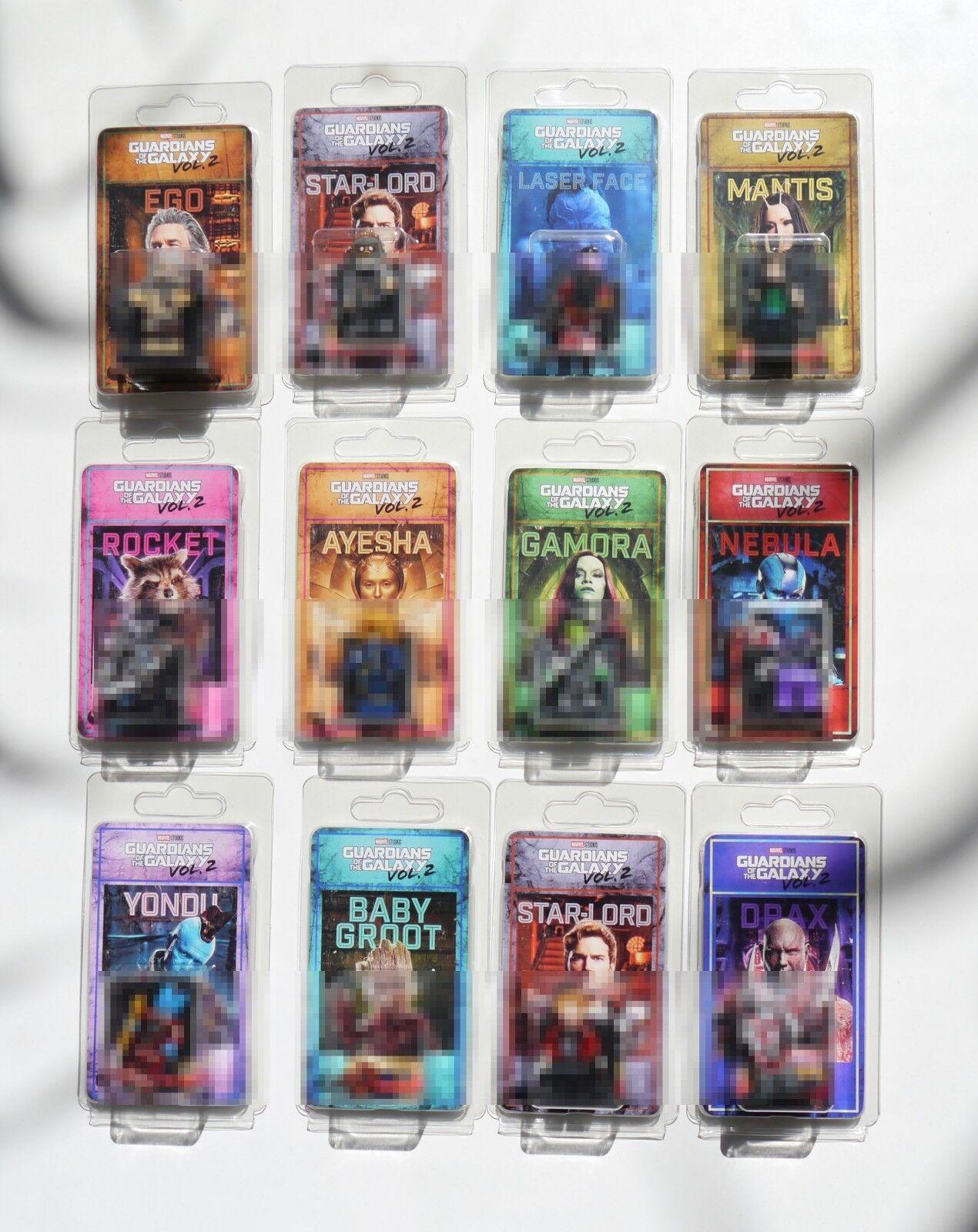 Lote 12 figuras Guardianes de la Galaxia/ Guardians of Galaxy Vol.2 Custom
