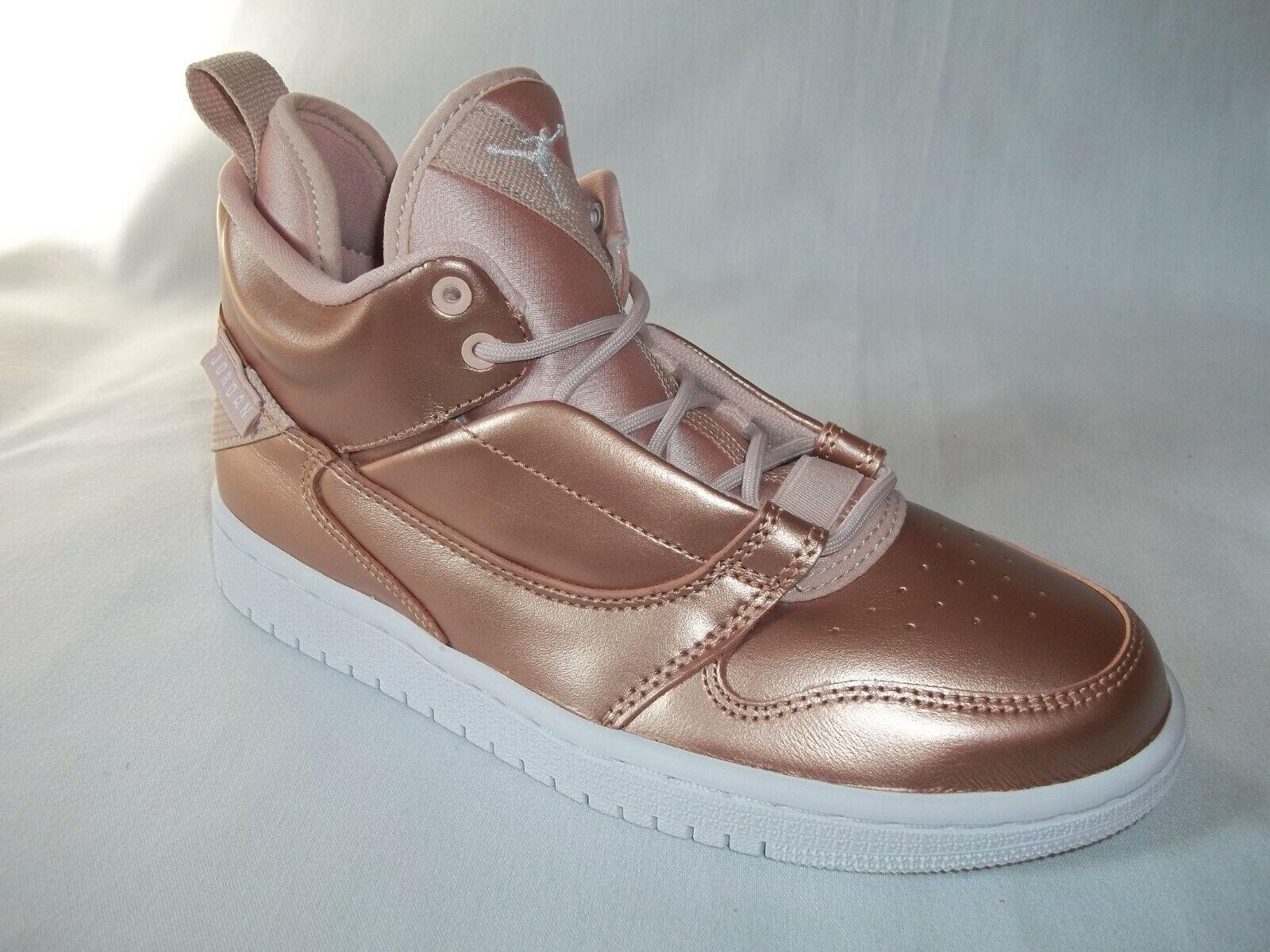 Jordan Fade Away   SE GS  shoes SZ 5.5- Beige White- AV5181 240  with 60% off discount