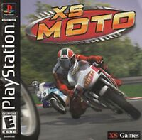 Xs Moto Racing Factory Sealed Playstation Psx Ps1