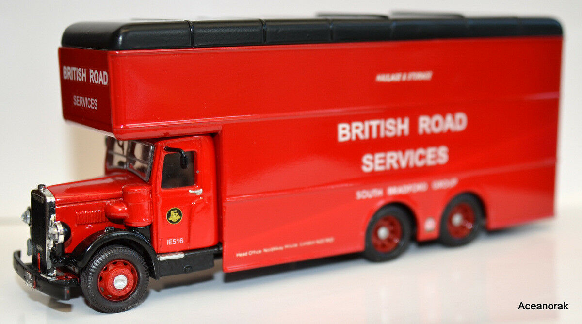1 43rd Scale Leyland Pantechnican Van British Road Services