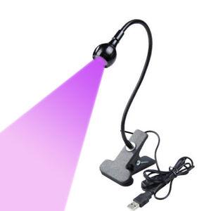 3W-395nm-LED-USB-Ultraviolet-Lamp-UV-Blacklight-Gooseneck-Fluorescent-Painting