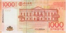 98 100 PATACAS 2003 PREFIX GV BANCO DA CHINA VF-EF WE COMBINE MACAO BANKNOTE P