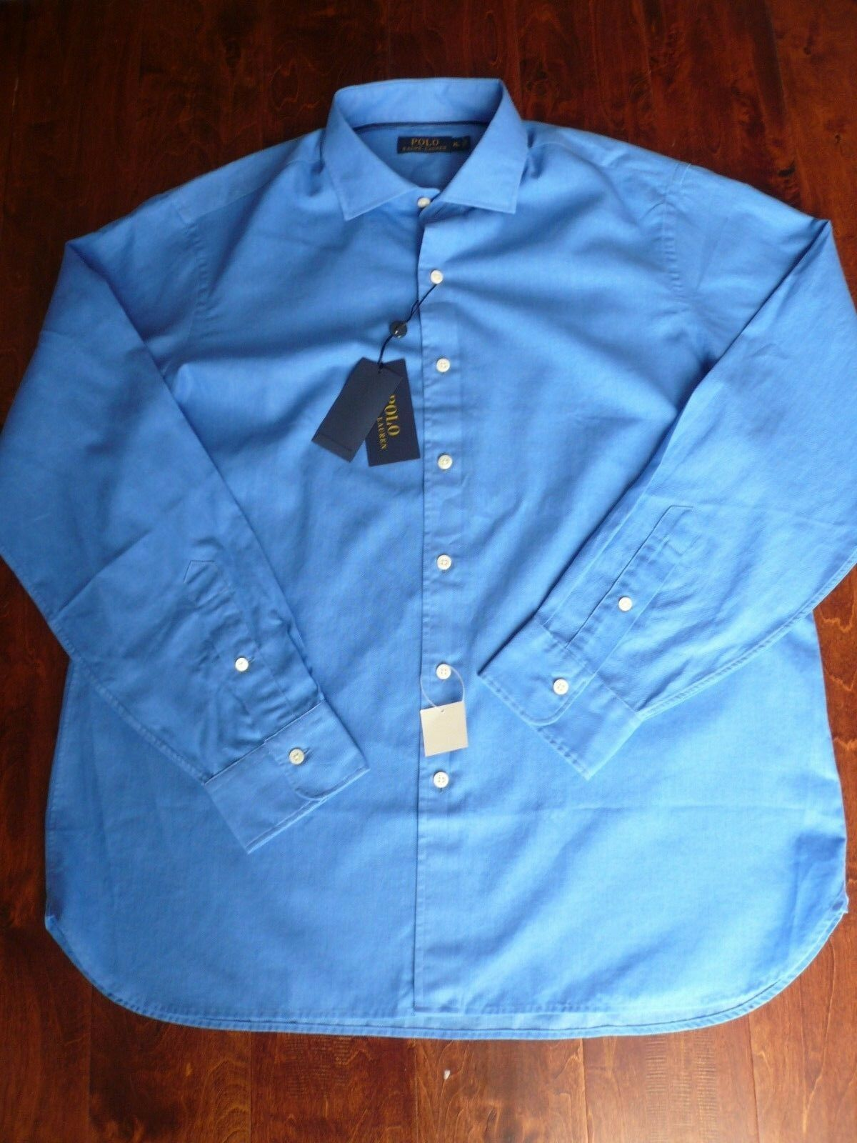 NWT  POLO RALPH LAUREN  LONG SLEEVE COTTON SHIRT SZ S