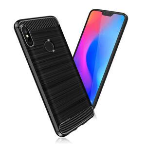 SDTEK-Coque-Carbone-TPU-Case-Cover-pour-Xiaomi-Mi-A2-Lite