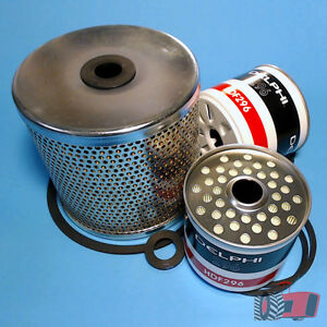 FLK3504-E-Oil-Fuel-Filter-Kit-Ford-2000-3000-4000-5000-Tractor-w-Cartridge-LF