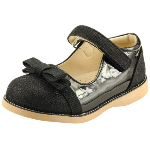 Girl/'s School Dress Classic Shoes Mary Jane Glitter 4 Colors Toddler Size