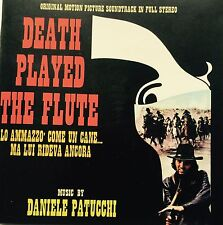DANIELE PATUCCHI - DEATH PLAYED THE FLUTE Spaghetti Western Soundtrack CD