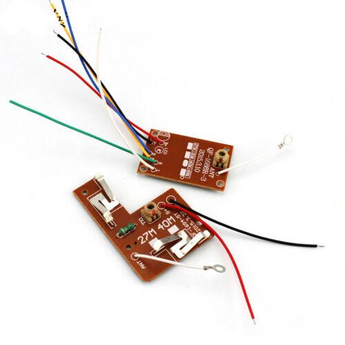 Empfänger Bord für Fernbedienung Auto DIY RC Spielzeugauto 27 MHZ 4CH Sender