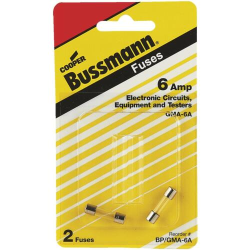 Bussman 6A Fast Acting Fuse