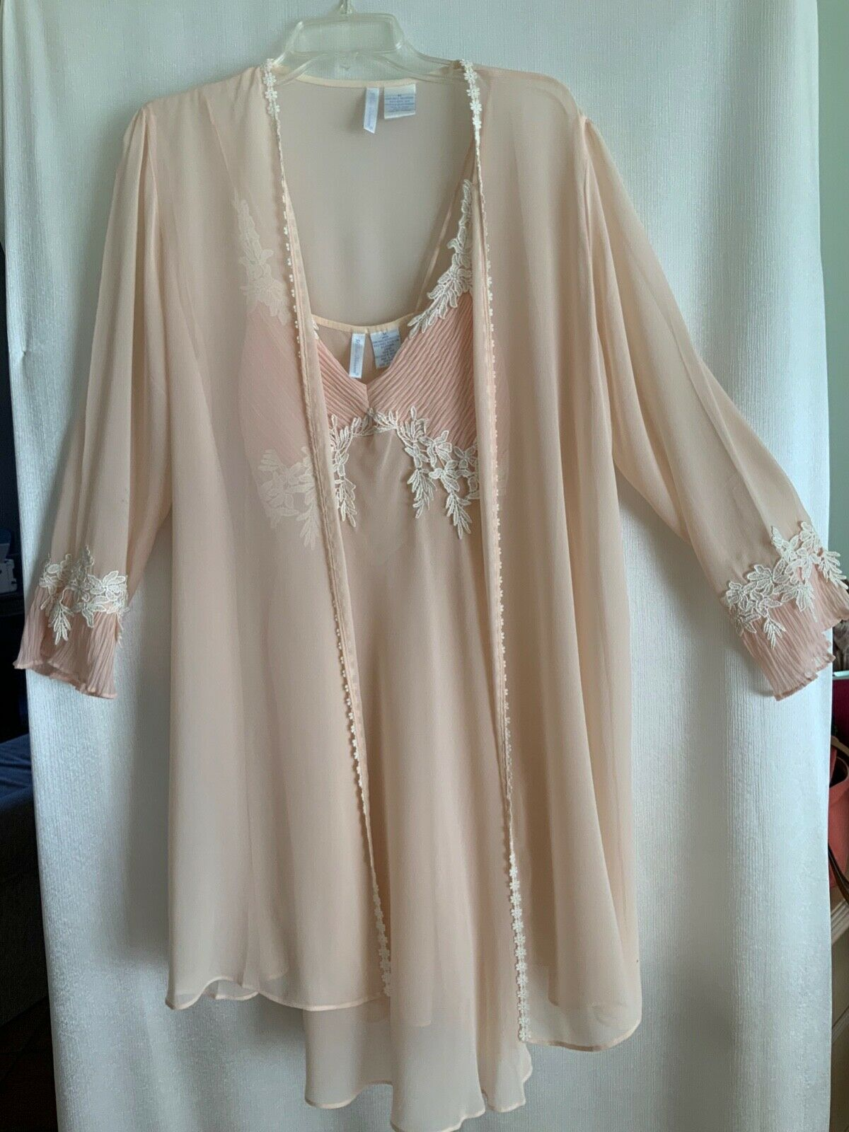 Willow Blossom, Women's Silk Robe & Gown - image 6