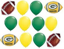 GREEN BAY PACKERS FOOTBALL BALLOONS BIRTHDAY PARTY