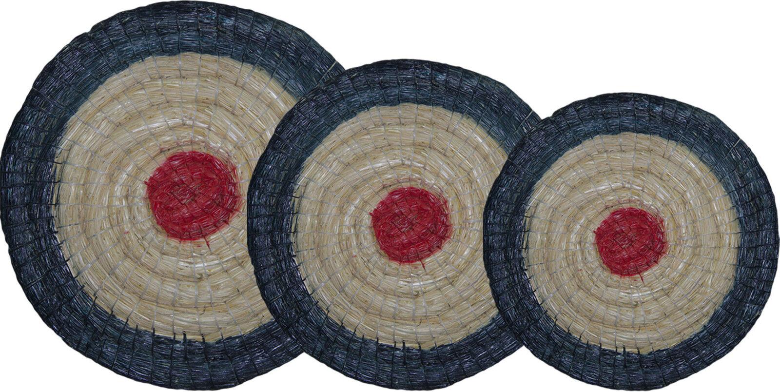 Zielscheibe, Strohzielscheibe Halona Halona Halona field 65x6 bis 80x8 cm natur und farbig 4c924f