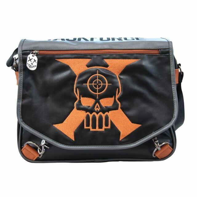 DC Taskforce-X Suicide-Squad Courier Messenger Shoulder Bag - Laptop Retro Uni