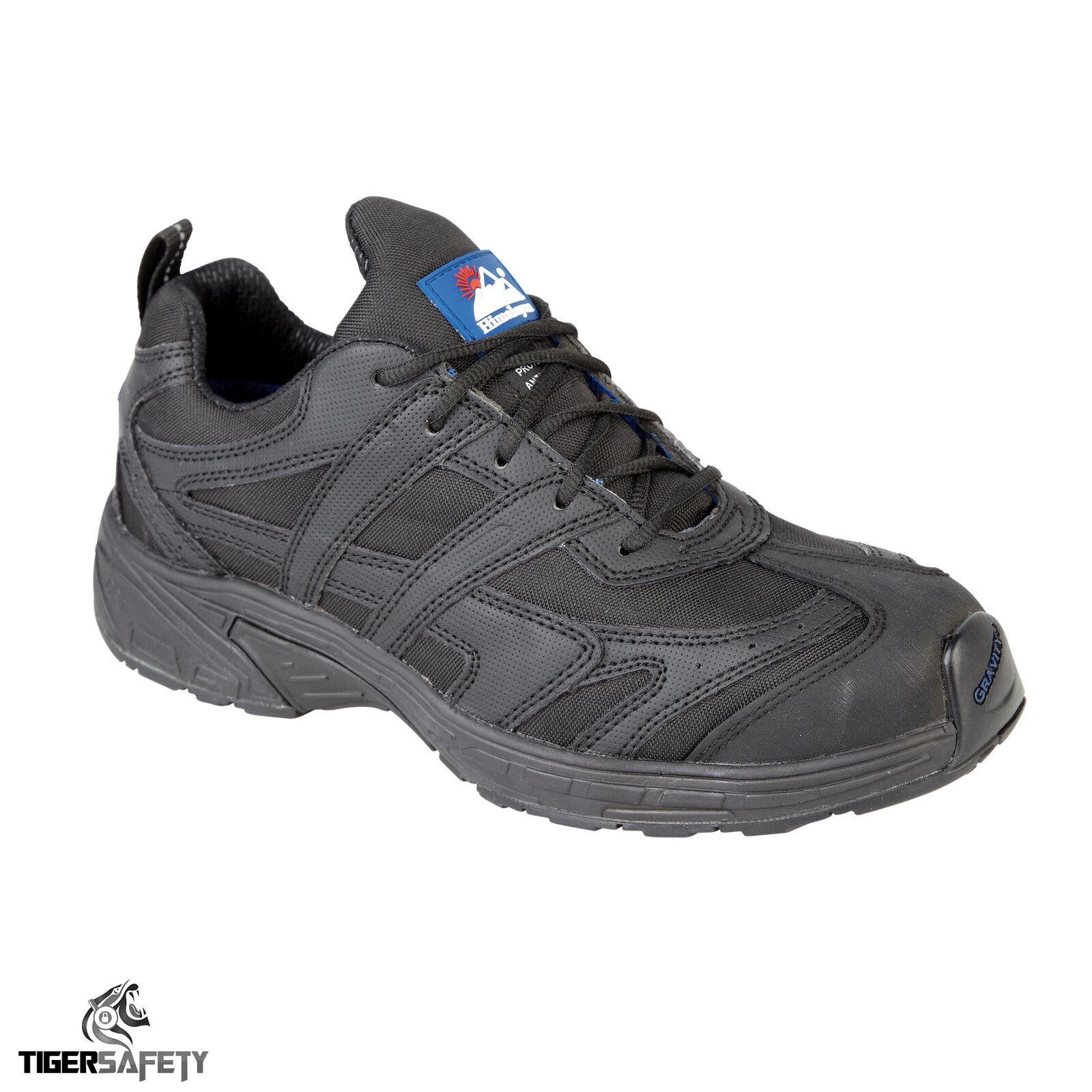 Himalayan 4037 S1 S1 4037 SRC Noir gravité Steel Toe Cap Micro Sport Baskets De Sécurité 5fd29d