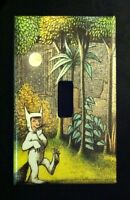 Where The Wild Things Are Single Light Switch Cover