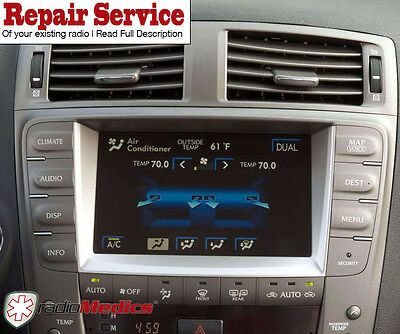 IS350 IS-F Navigation WARRANTY ISF REPAIR SERVICE 2006-2009 Lexus IS250