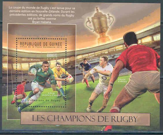 HonnêTe Guinée 2012 Champions De Rugby Ahsey