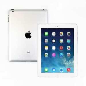 Apple IPAD 4 16GB Wi-Fi 9.7in Retina A1458 Blanc Rapide Tablette