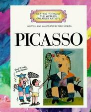 Getting to Know the World's Greatest Artists: Picasso by Mike Venezia (1988, Paperback)