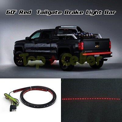 """Red LED Light 60"""" Bar Strip Truck Tailgate Rear Running Turn Signal Brake Light"""