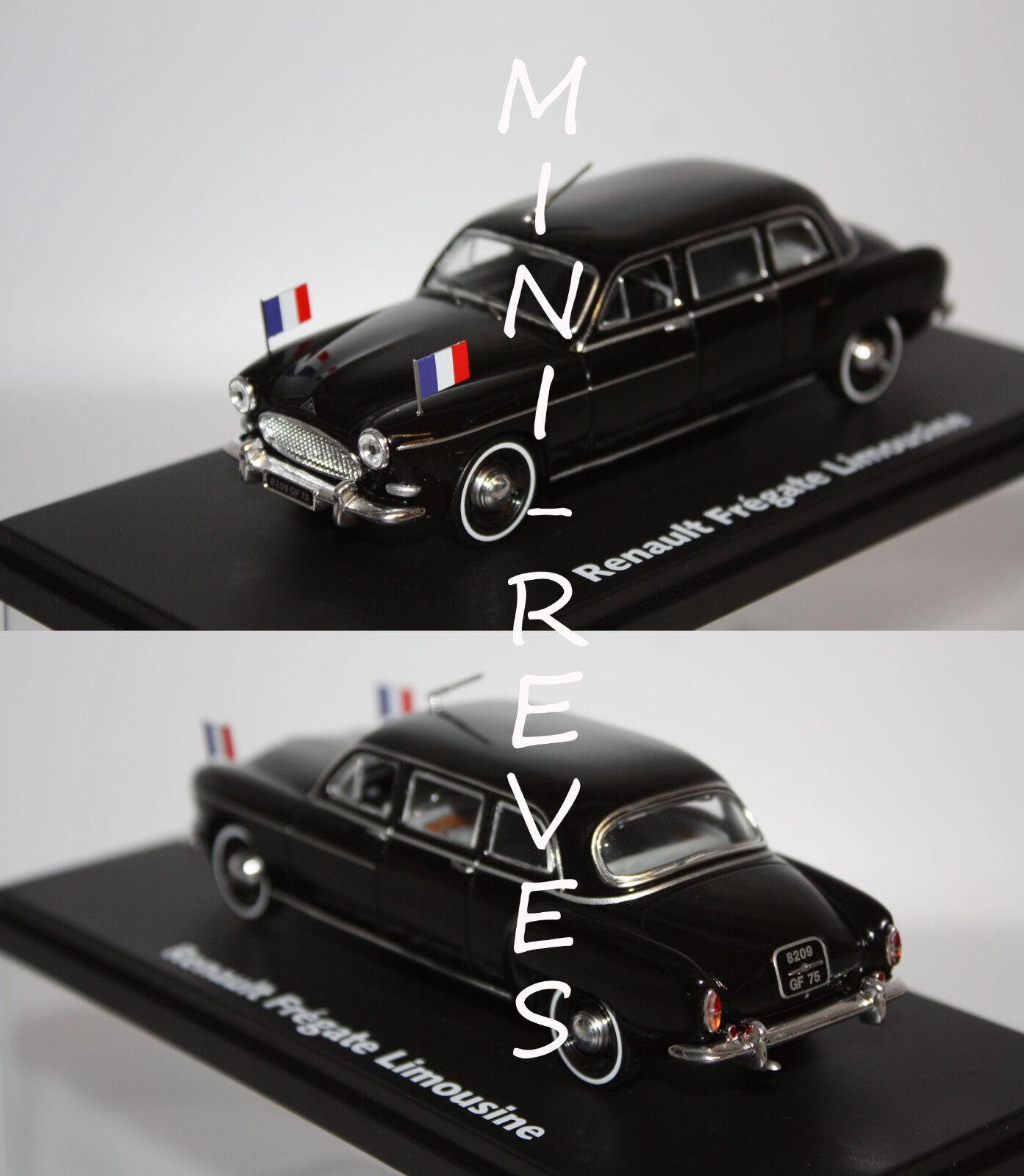 Norev Renault Frégate Limousine Présidentielle 1957 noire 1 43 519168